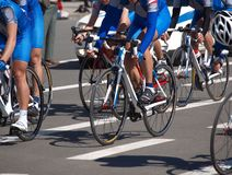 Start cycle race Royalty Free Stock Photo
