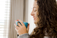 Start a day with a fresh coffee Stock Images
