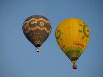 Start der Ballone, Naleczow, Polen Lizenzfreies Stockbild