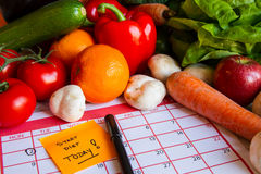 Start Diet Today Stock Images