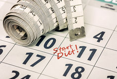 Start diet Stock Photo