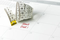 Start diet Stock Images
