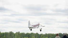 Start Douglas DC-3 stock video footage