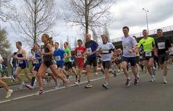The start of the Dwars door Dort race Stock Images