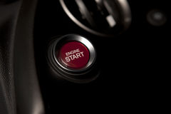 Start Engine Royalty Free Stock Photo