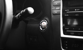 Start engine button Stock Photography