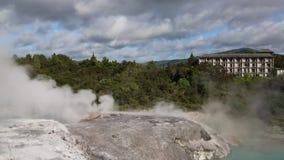 Start of eruption stock video footage