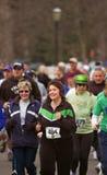 start för mänsklig race 5k Royaltyfria Bilder