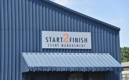 Start 2 Finish Event Management, Memphis, TN. Start 2 Finish produces high quality health-oriented events across the country. We are a one stop shop for race royalty free stock image