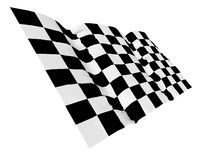 Start and finish flag Stock Images