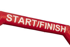Start Finish Line Banner Royalty Free Stock Photo