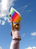 Start flying kite Royalty Free Stock Photos