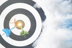 Start, het richten en carrièreconcept vector illustratie