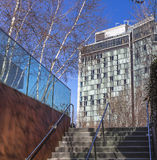 Start of highline park Stock Photography