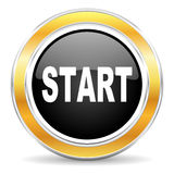 Start icon Royalty Free Stock Image