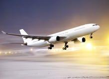 Start im non-flying Wetter Stockfotos