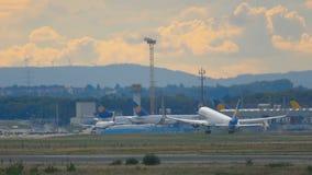Start Kondor-Boeings 767 stock video footage
