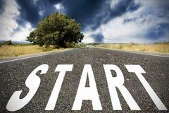 Start Royalty Free Stock Photo