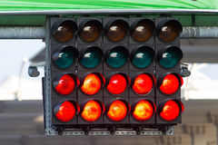 Start Lights Royalty Free Stock Photo