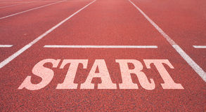 Start line. Start  Line for businees conception Royalty Free Stock Images
