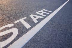 Start Line Stock Photography