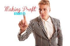 Start making profit concept Stock Photography