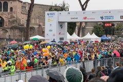 The start of the Marathon Royalty Free Stock Image