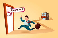 Start my own business Royalty Free Stock Images