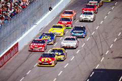 Start of a NASCAR race in Martinsville, VA Stock Image