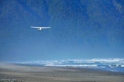 Start in Nationalpark Fiordland lizenzfreies stockbild