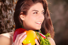 Start with a new diet Royalty Free Stock Photography