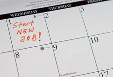 Start new job Stock Photos
