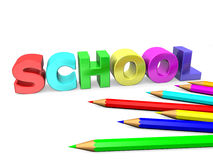 Start of the new school year Royalty Free Stock Photo