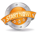 Start now. And beginning a new life Stock Images