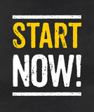 Start now Stock Images
