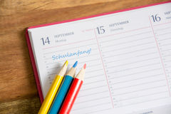Free Start Of The School Year Stock Image - 55414611