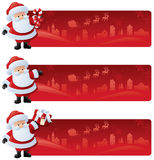 Start a Page with Santa Stock Images