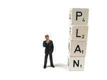 Start with a plan Stock Photos