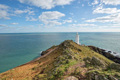 Start Point Lighthouse in Devon Royalty Free Stock Photos