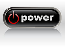 Start - power button, vector Stock Photo