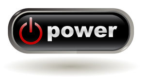 Start - Power On - Button, Vector Royalty Free Stock Photos