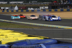 Start of the race in Le Mans Royalty Free Stock Image