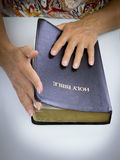 Start reading bible Stock Photography