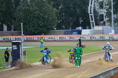 Start of riders Royalty Free Stock Photo