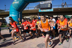 Start of a Running Race Royalty Free Stock Image