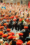 Start of San Fermin feast Royalty Free Stock Photos