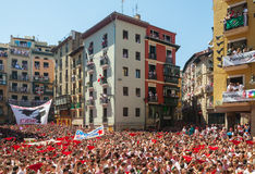 Start of San Fermin Festival Royalty Free Stock Images