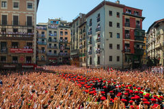 Start of San Fermin festival Stock Image