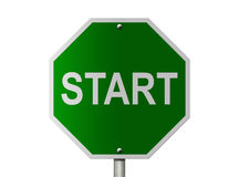 Free Start Sign Stock Images - 28712824