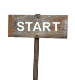 Start sign Stock Photography